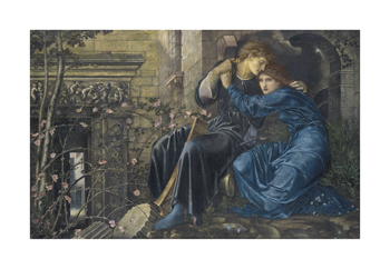 Love Among the Ruins Fine Art Print by Sir Edward Burne-Jones