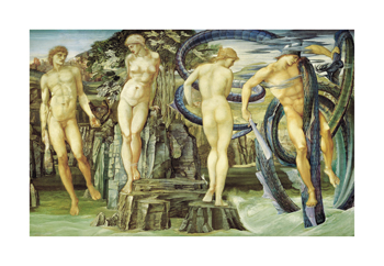 Perseus and Andromeda Fine Art Print by Sir Edward Burne-Jones