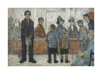 Doctor's Waiting Room, c1920 Fine Art Print by L.S. Lowry