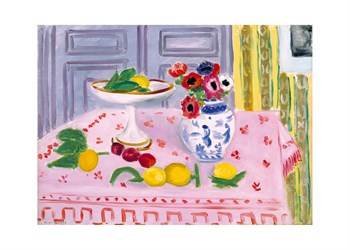 The Pink Tablecloth, 1925 Print by Henri Matisse