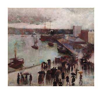 Departure of the Orient Fine Art Print by Charles Conder