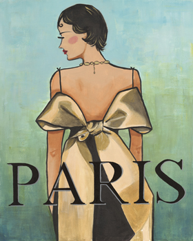 Paris Print by Juliette McGill