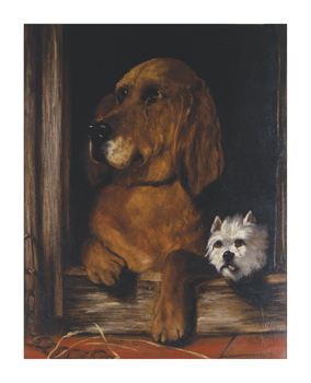 Dignity And Impudence II Fine Art Print by Edwin Landseer