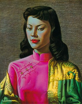 Miss Wong Fine Art Print by Vladimir Tretchikoff