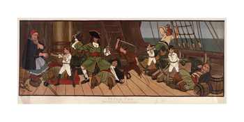 Defeat Of The Pirates Fine Art Print by John Hassall