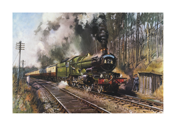 Cathedrals Express Fine Art Print by Terence Cuneo