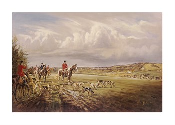 Away From Norfolk Clamp Fine Art Print by John King