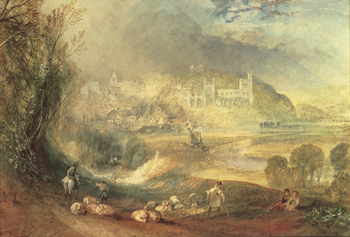 Arundel Castle Print by J.M.W. Turner
