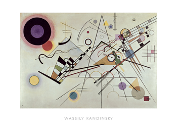 Composition no.8, 1923 Print by Wassily Kandinsky