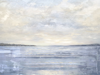 Serene Horizon Canvas Print by Paul Duncan