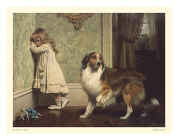 A Special Pleader Print by Charles Burton Barber