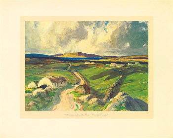 Arranmore From The Rosses Fine Art Print by James Humbert Craig