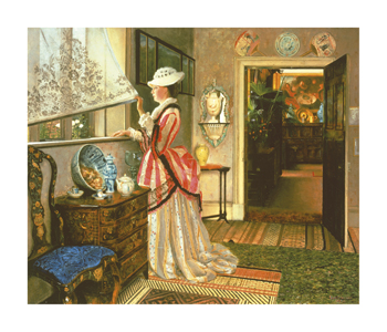 Anticipation Fine Art Print by John Atkinson Grimshaw
