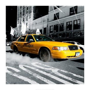 City Streets IV Print by Joseph Eta