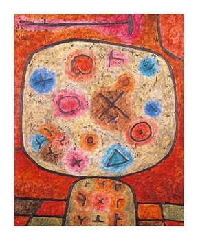 Composition Fine Art Print by Paul Klee