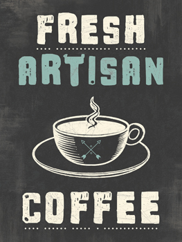 Fresh Coffee Print by Tom Frazier