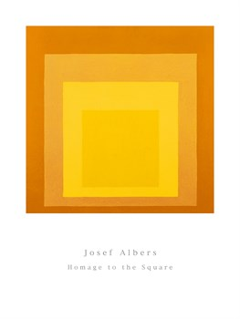 Homage To The Square by Josef Albers Standard