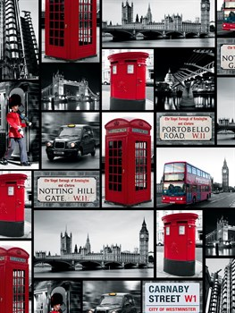 London Repeat Print by Joseph Eta