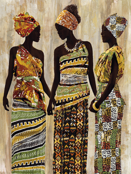 African Beauties Print by Mark Chandon