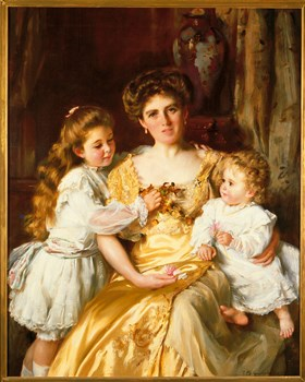 A Mother's Love Print by Sir Thomas Kennington
