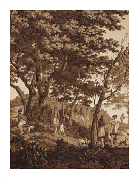 Arcadia (Sepia) V Fine Art Print by Anonymous