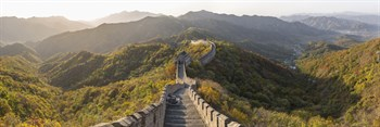 The Great Wall I Canvas Print by Peter Adams