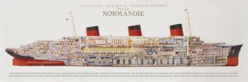 Compagnie Generale Transatlantique Print by The Vintage Collection