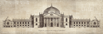 Design for a Palace in the County of Oxfordshire Print by School of Padua
