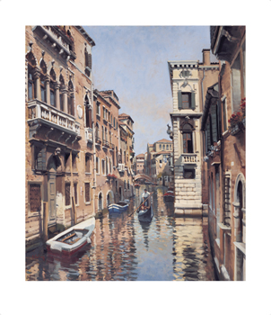 Casa di Casanova Fine Art Print by Peter Curling