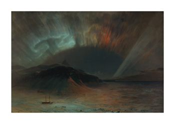 Aurora Borealis Fine Art Print by Frederic Edwin Church