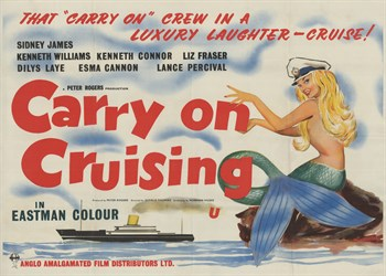 Carry on Cruising Print by The Vintage Collection