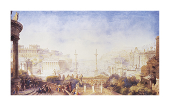 An Imaginative Reconstruction, Rome Fine Art Print by Sir James Pennethorne