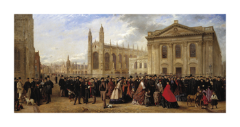 Degree Morning, Cambridge, 1863 Fine Art Print by Robert Farren