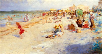 The Last Days of Summer Print by Alois Hans Schramm