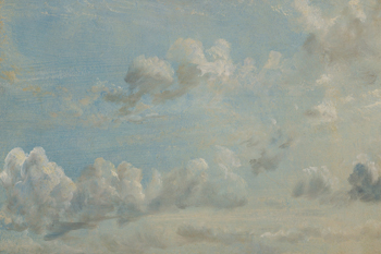 Study of Cumulus Clouds, 1822 Canvas Print by John Constable