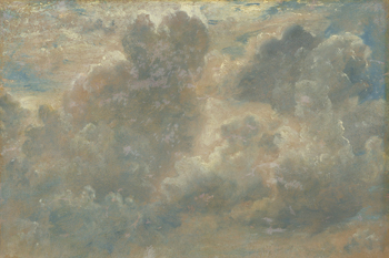 Study of Clouds, 1822 Canvas Print by John Constable