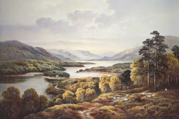 Glen Affric Canvas Print by Wendy Reeves