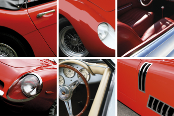 Vintage Vehicles - Composite Canvas Print by Malcolm Sanders