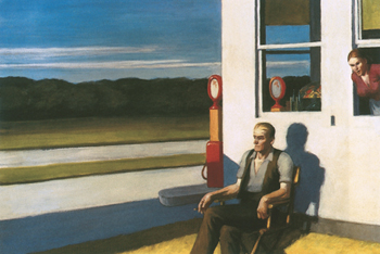 Four Lane Road, 1956 Print by Edward Hopper