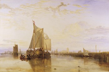 The Dort Packet-Boat from Rotterdam Print by J.M.W. Turner