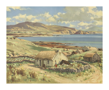 Donegal Bay Fine Art Print by Maurice Wilks