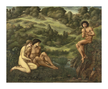 Garden of Pan Fine Art Print by Sir Edward Burne-Jones