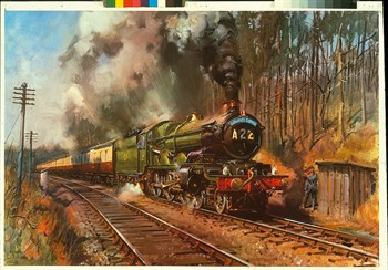 Cathedrals Express Print by Terence Cuneo