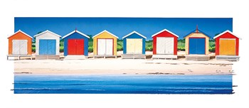 Beach Colour Print by Bernie Walsh