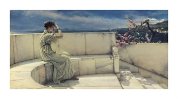 Hope Springs Eternal Fine Art Print by Sir Lawrence Alma-Tadema