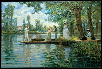 An Idyllic Afternoon Print by Alan Maley