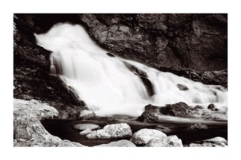 Cascades Print by Jay Wesler