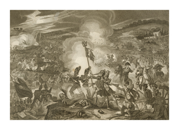 Battle of Waterloo Fine Art Print by Samuel Freeman