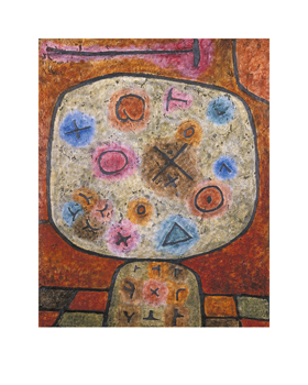Composition Print by Paul Klee