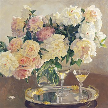 Cocktail of Roses Print by Valeriy Chuikov